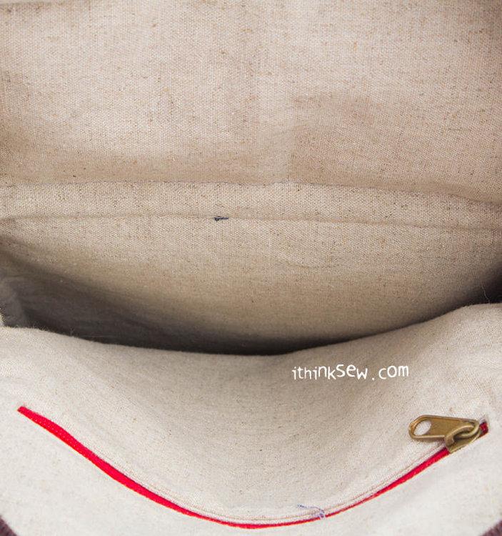 Picture of Rex Sling Bag PDF Pattern