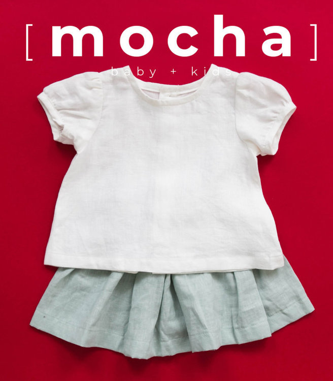 Picture of (3M-24M) Harriet Baby Blouse PDF Pattern
