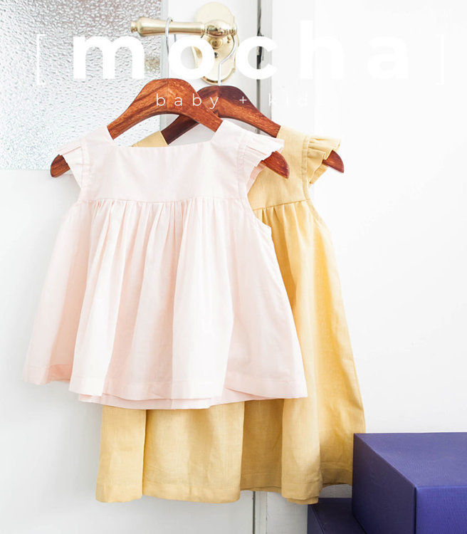 Picture of (3M -24M) Fay Baby Blouse and Dress PDF Pattern