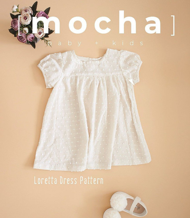 Picture of (3Y-10Y) Loretta Kids Dress and Blouse Loretta PDF Pattern