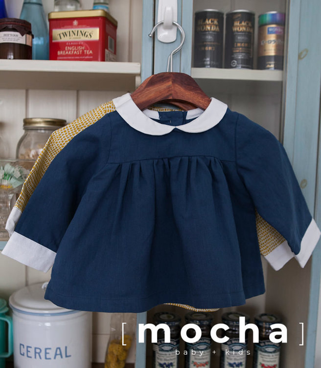 Picture of (3Y-10Y) Greta Blouse and Dress PDF Pattern