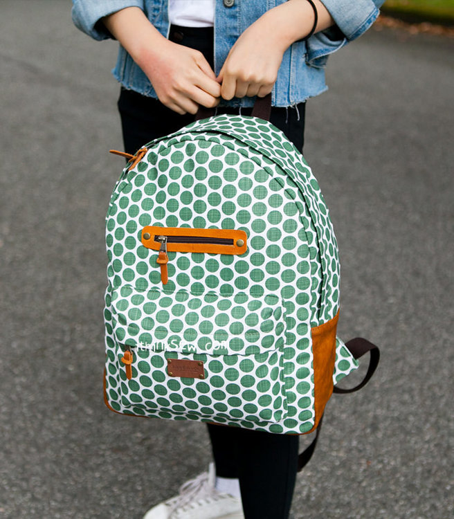 Picture of Carson School Backpack PDF Pattern