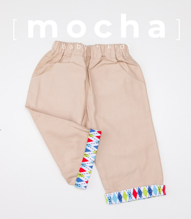 Picture of (3Y-7Y) Lucas Cuffed Pants PDF Pattern