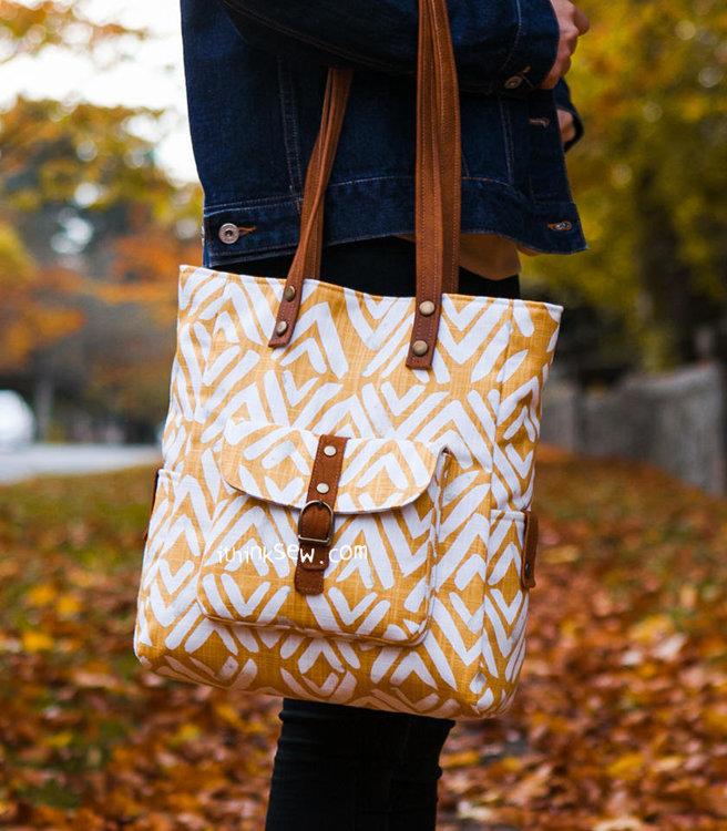 Picture of Velma Tote Bag PDF Pattern