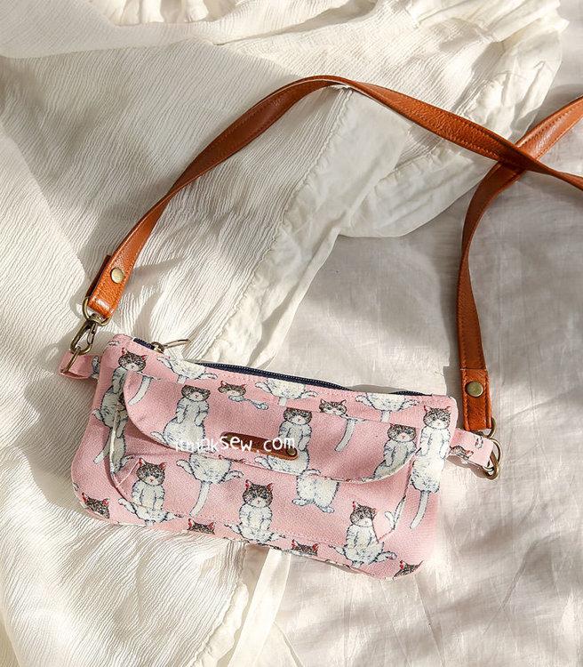 Picture of Karine Wallet Bag PDF Pattern