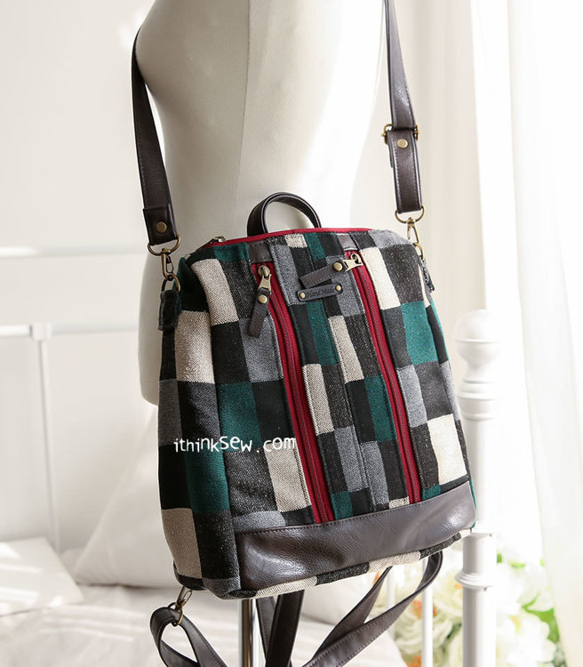Picture of Lizzie Backpack PDF Pattern
