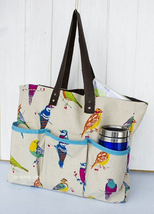Picture of Bennett Bag PDF Pattern