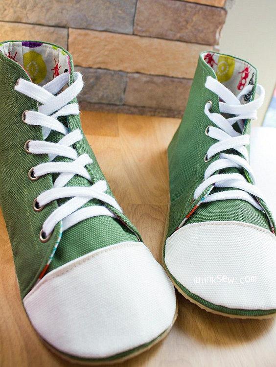 Picture of Aidan Woman Sneakers PDF Pattern