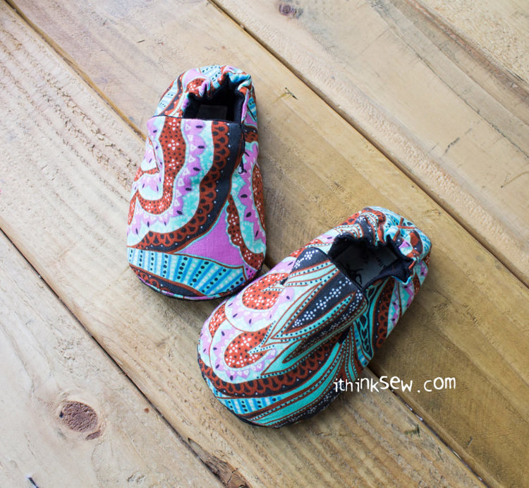 Picture of Mason Baby Shoes PDF Pattern