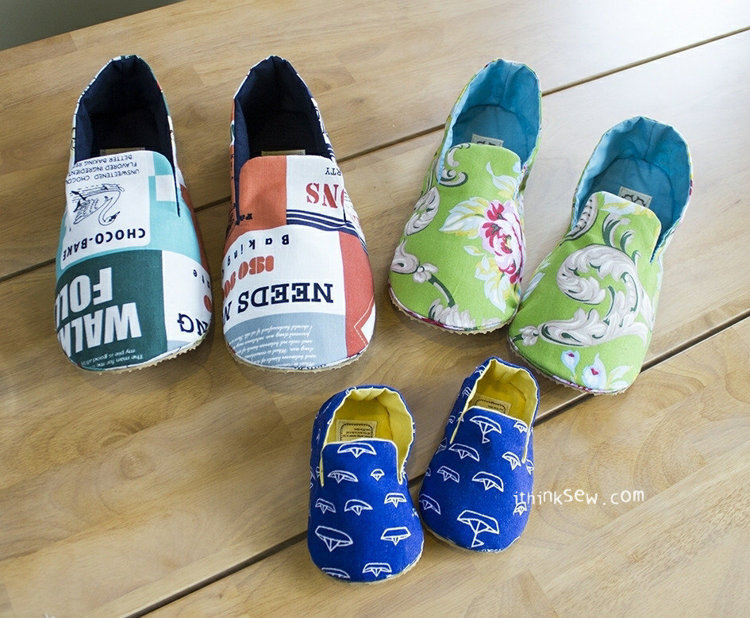 Picture of Mason Family Shoes Set PDF Pattern - 20% Off!