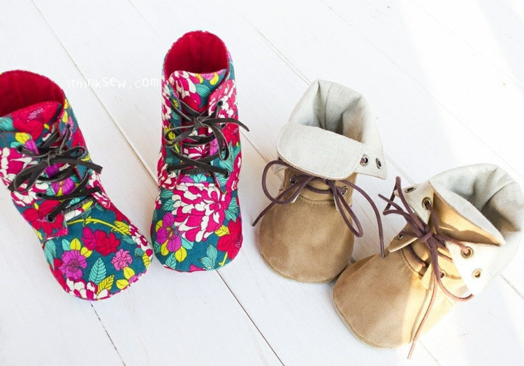 Picture of Adler Mom & Baby's Combat Boots PDF Pattern - 20% Off!