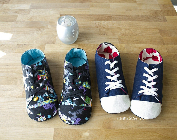 Picture of Kaley Women's Sneakers PDF Pattern