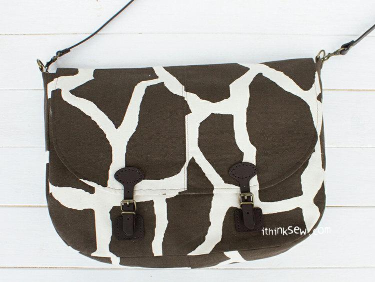 Picture of Kendall Messenger Bag & Tablet Sleeve PDF Pattern