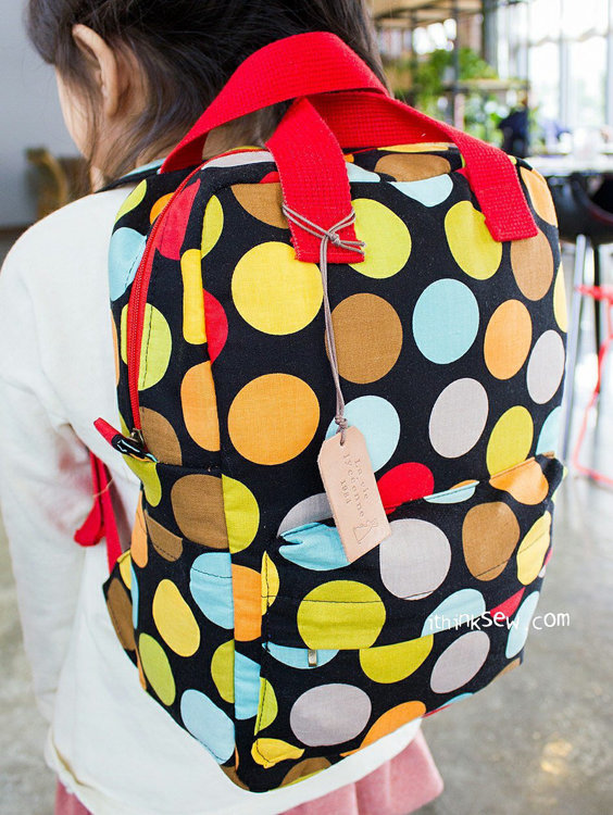 Picture of Vicky Baby Backpack PDF Pattern