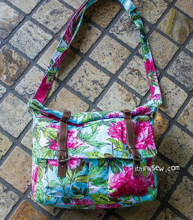 Picture of Baylee Cross Bag PDF Pattern