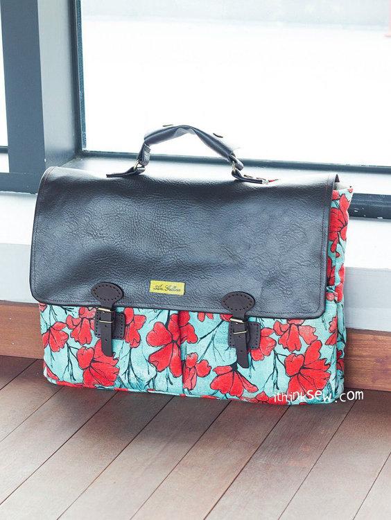 Picture of Samuel Laptop Bag PDF Pattern