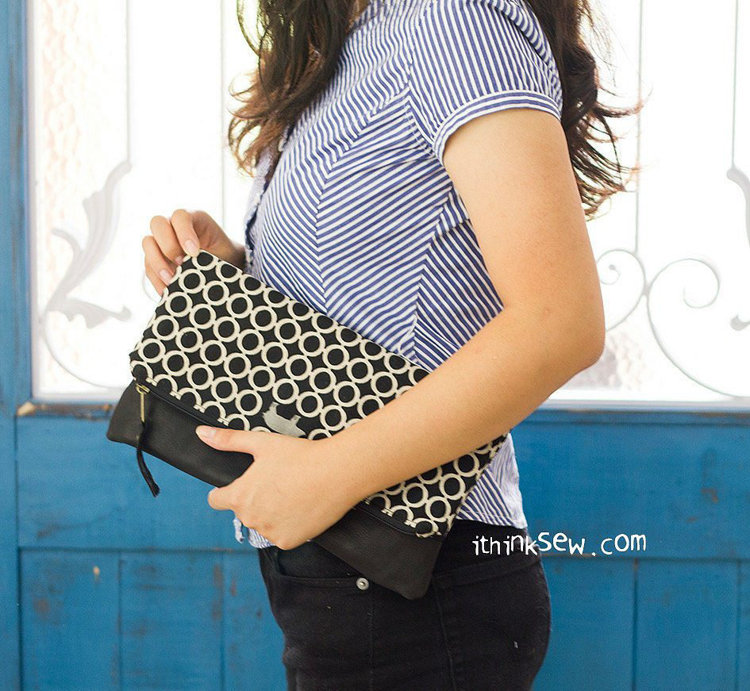 Picture of Marissa Fold Over Clutch PDF Pattern