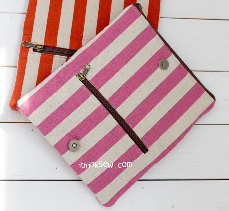 Picture of Jessica Fold-Over Wallet PDF Pattern