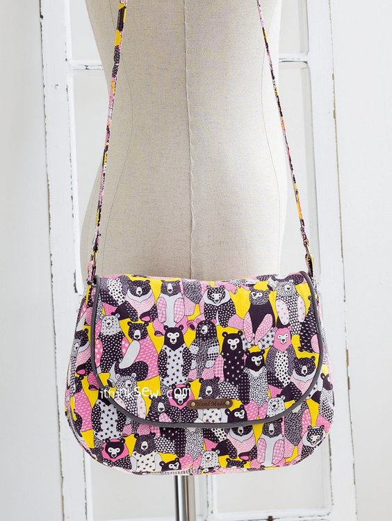 Picture of Erin Bag PDF Pattern