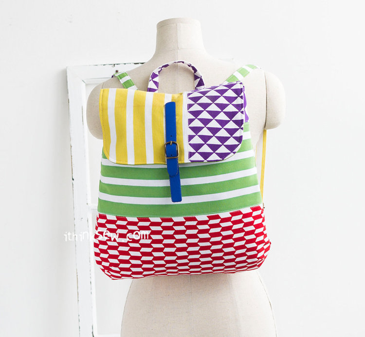 Picture of Makenna Backpack PDF Pattern