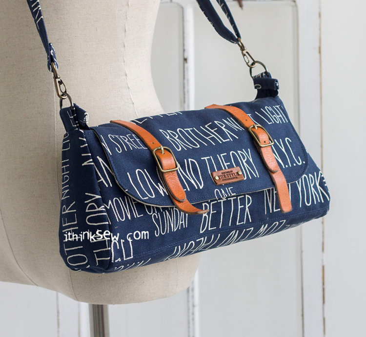 Picture of Cindy Cross Bag PDF Pattern