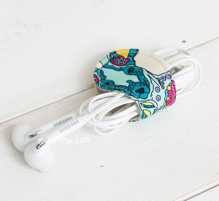 Picture of FREE - Rosanna Headphone and Cord Wrapper PDF Pattern - FREE!
