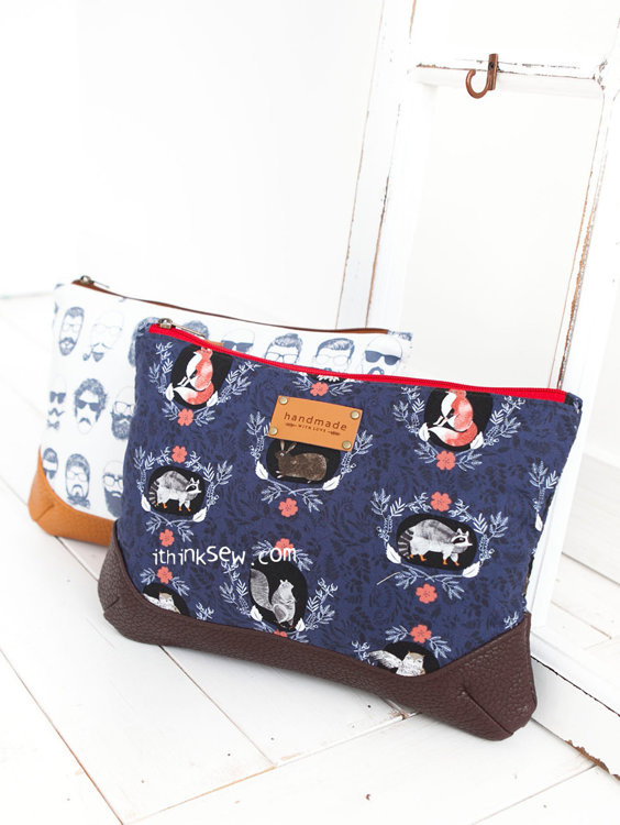 Picture of Arya Pouch PDF Pattern