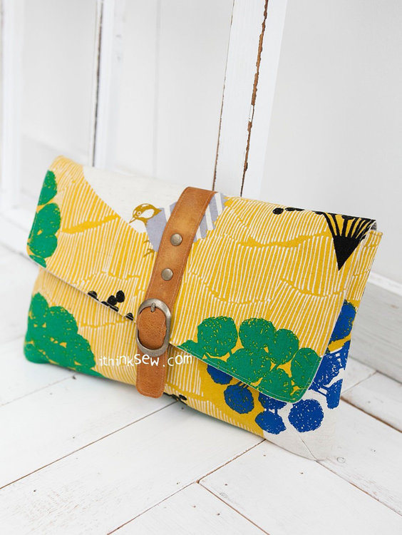 Picture of Jeanette Clutch PDF Pattern