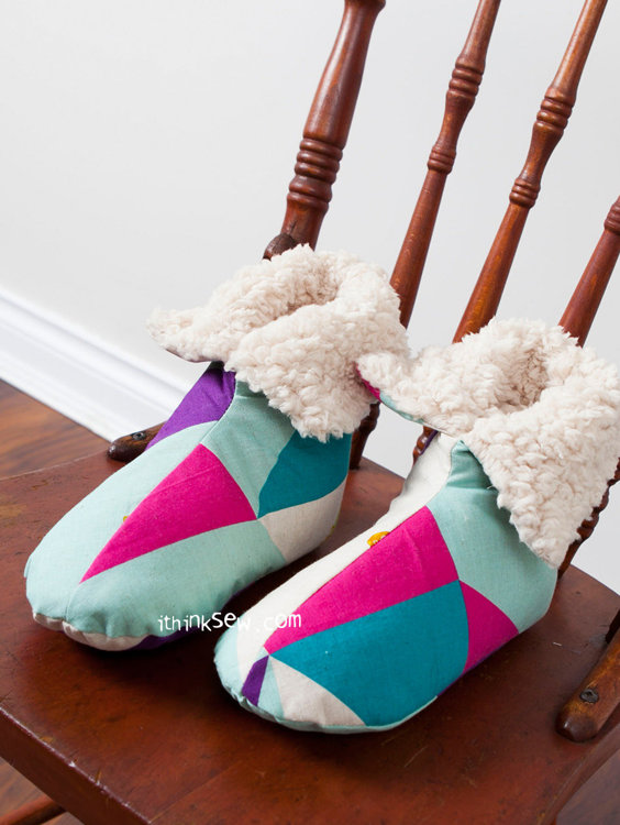 Picture of Vina Women's Shoes PDF Pattern