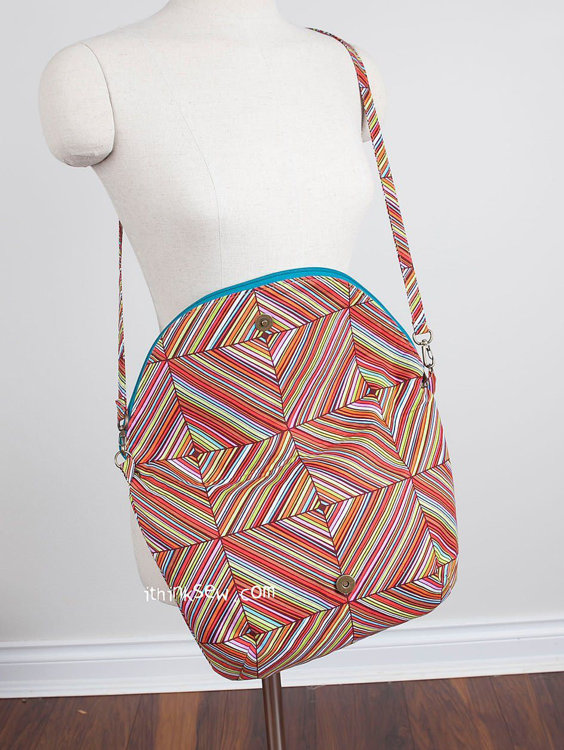 Picture of Aime Fold Over Bag PDF Pattern