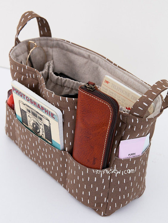 Picture of Vera Organize Bag PDF Pattern