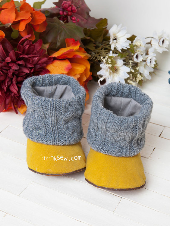 Picture of Annmarie Baby Boots PDF Pattern