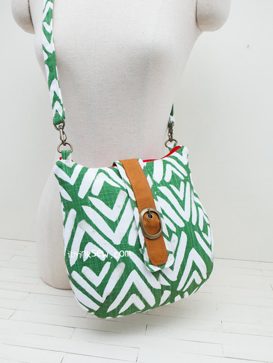 Picture of Justine Bag PDF Pattern