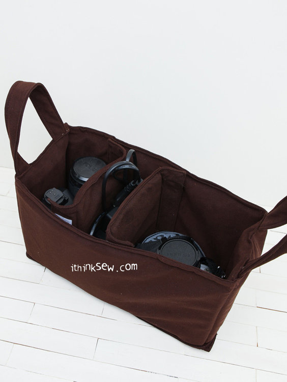 Picture of Reese Camera Bag & Insert Bag PDF Pattern