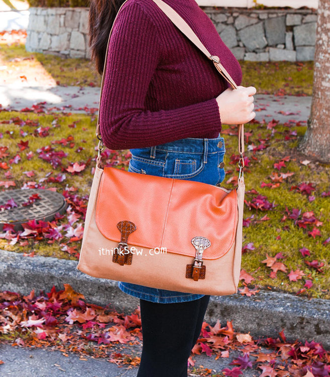 Picture of Jocelyn Messenger Bag PDF Pattern