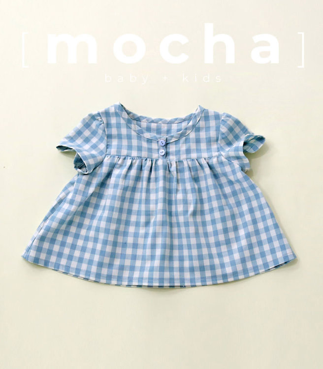 Picture of (3M-24M) Clarita Blouse for Baby PDF Pattern