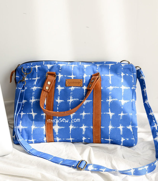 Picture of Larissa Thin Laptop Bag PDF Pattern