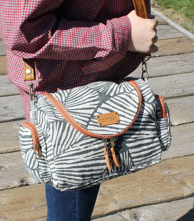 Picture of Kyleigh Multi Casual Bag with Camera Insert Bag PDF Pattern