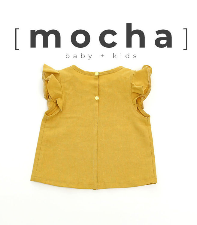 Picture of (3Y-10Y) Zoie Blouse for Kids PDF Pattern