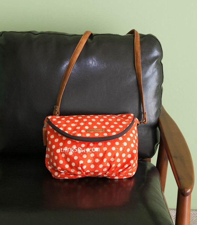 Picture of Roseline Fold Over Bag PDF Pattern