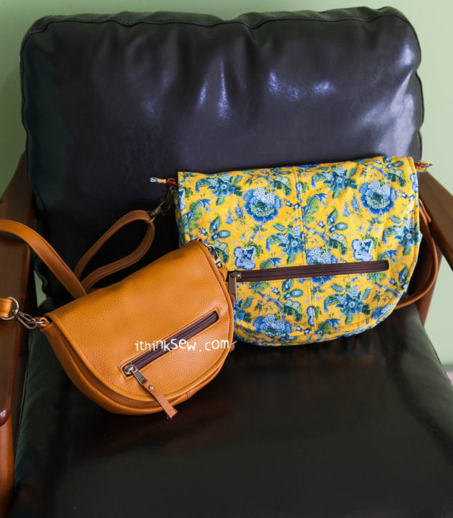 Picture of Blythe Bag (2 Sizes) PDF Pattern