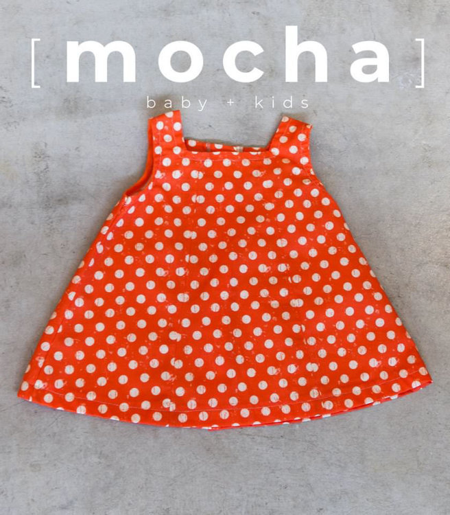 Picture of (3Y-10Y) Selma Dress for Kids PDF Pattern