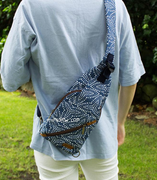 Picture of Otis Sling Bag & Louise Fold Over Tablet Bag Combo PDF Pattern