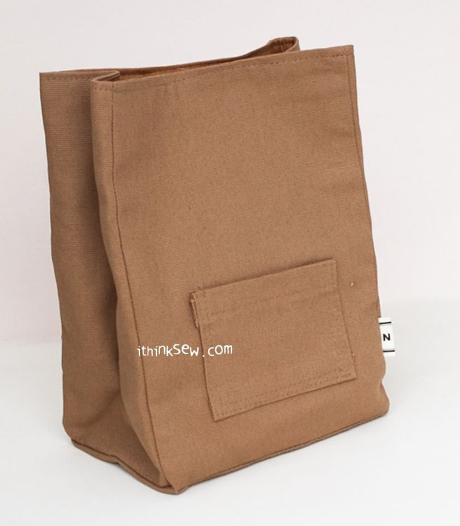 Picture of Glady Lunch Bag PDF Pattern