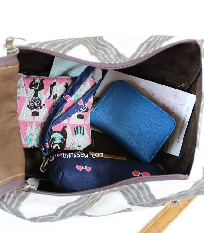 Picture of Elliot Dual Side Handled Bag PDF Pattern