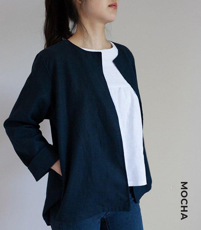 Picture of MOCHA Paulette Jacket PDF Pattern