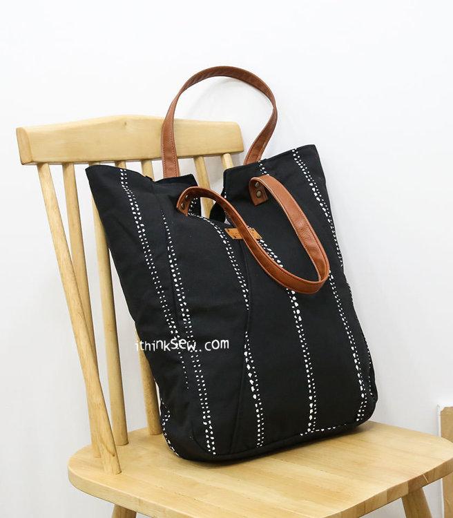 Picture of Deanna V Shape Shoulder Bag PDF Pattern