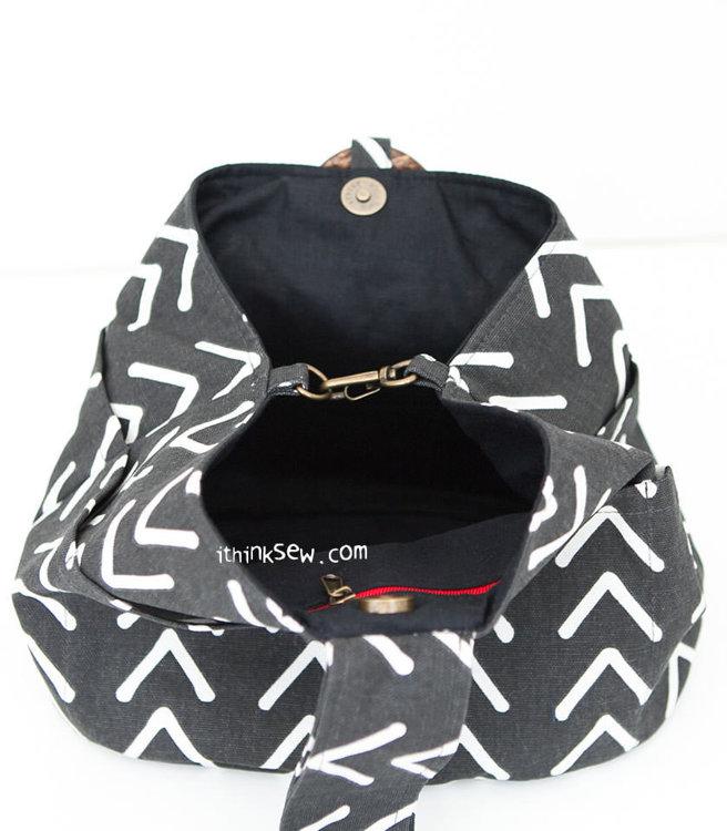Picture of Tara Bucket Bag PDF Pattern