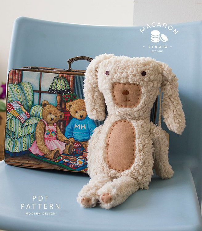 Picture of Dasher Doggy Doll PDF Pattern