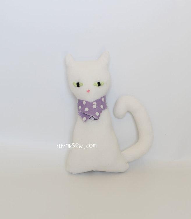 Picture of Free Mimi Cat Doll PDF Pattern